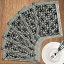 Dekor World Foral Blossom Table Placemat - Pack Of 6 - TPMDU84KEZWTJR9Z