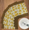 Dekor World Floral Fun Table Placemat - Pack Of 6 - TPMDYHV9RVYRHRVC