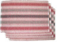 Rhapsody Decor Vibrant Stripes Table Placemat (Pack Of 4)