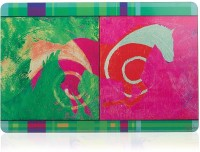 ARTychoke Horse Swirl Table Placemat (Pack Of 7)