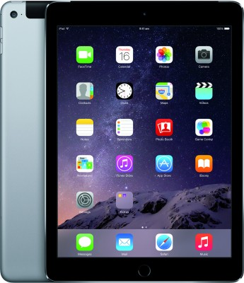 Apple iPad Air 2 Wi-Fi + Cellular 16 GB Tablet (Space Grey, 16 GB, Wi-Fi+4G)