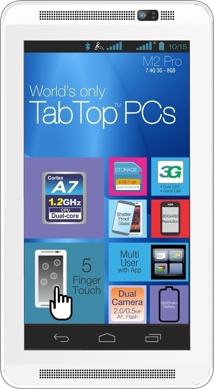 View Milagrow M2 Pro 8GB Tablet Note Price Online(Milagrow)