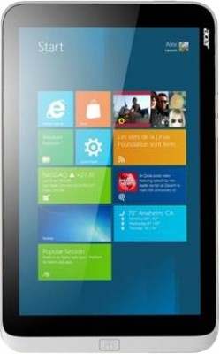 View Acer Iconia W3-810 Tablet Tablet Note Price Online(Acer)