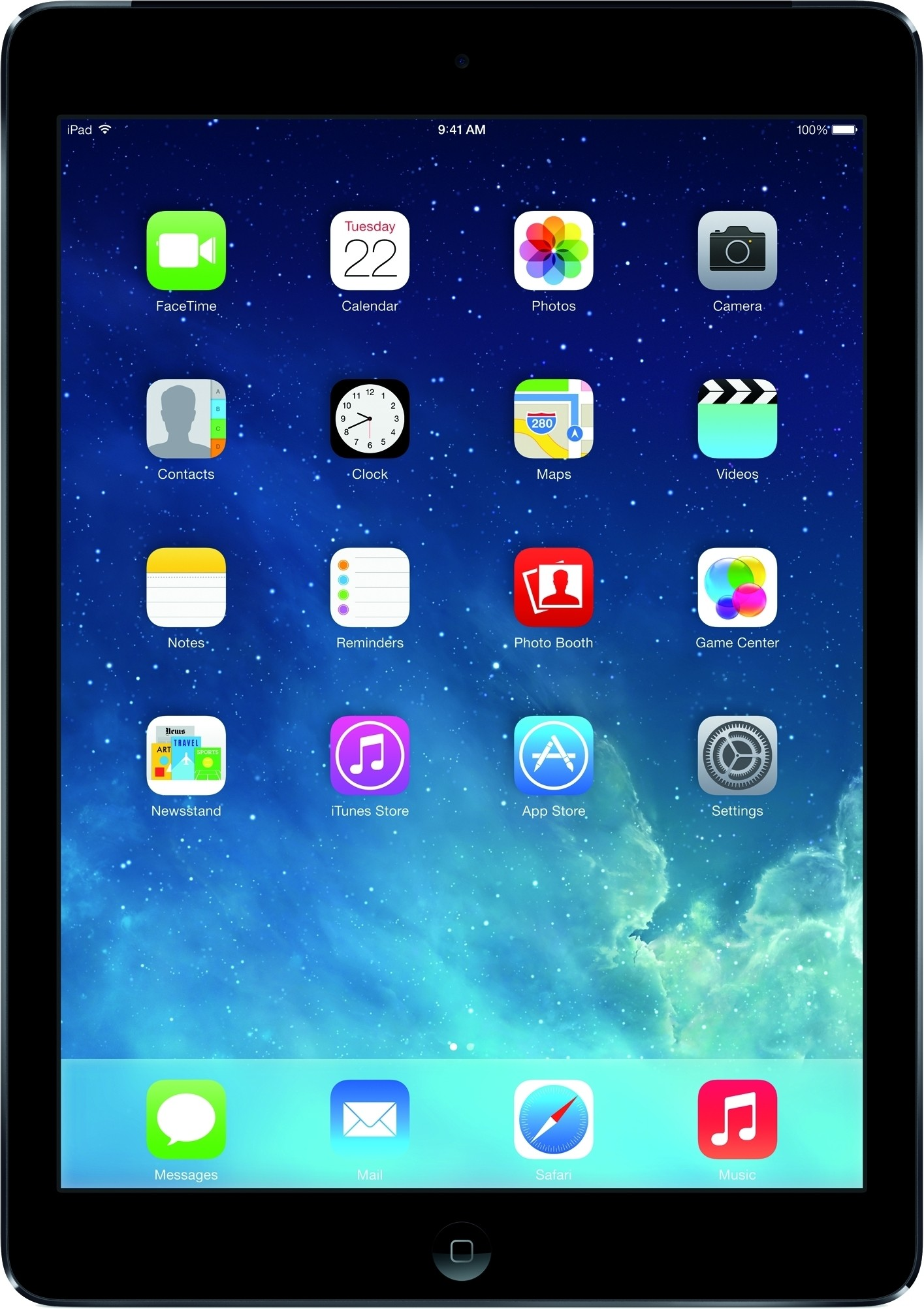 Apple 16 GB iPad Air with Wi-Fi + Cellular Space Grey, 16 GB, Wi-Fi, 3G
