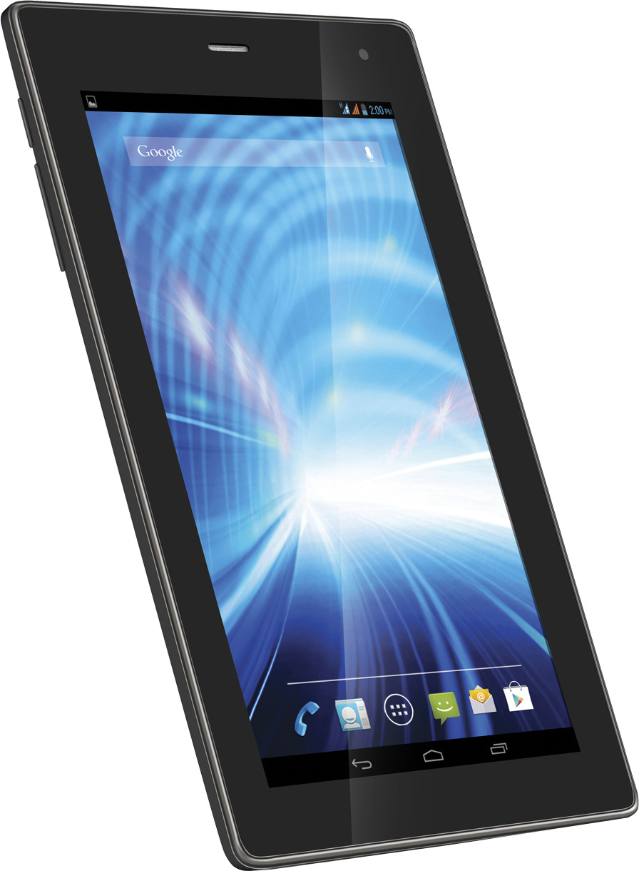 Lava QPAD R704 Tablet Black, 8 GB, Wi-Fi, 3G