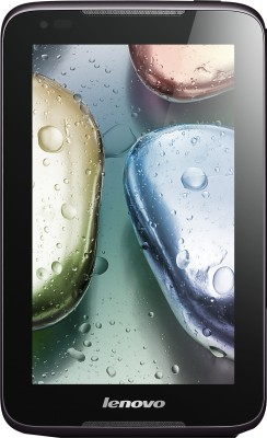 Lenovo Idea Tab A1000 Tablet Black, 4 GB, 2G, Wi Fi, Screen Protector, Tablet Cover available at Flipkart for Rs.8700
