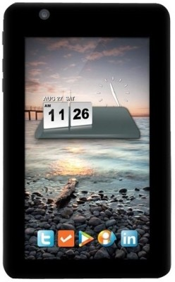 HCL ME Tablet U1 Black, 4 GB, Wi Fi, 3G with USB Modem available at Flipkart for Rs.3699