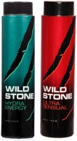 Wild Stone Ultra Sensual And Hydra Energy Talc (600 G)