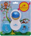 Baby Coo's Rattle Teether - Blue