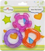 1st Step Teethers & Soothers 3pcs