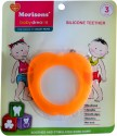 Baby Dreams SiliconeTeethers-Apple-Pac-3 - Orange