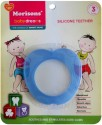 Baby Dreams SiliconeTeethers-Apple-Pac-3 - Blue