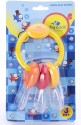Baby Coo's Rattle Cum Teether - Yellow