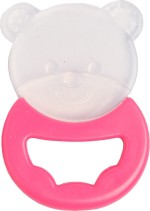Baby Coo's Teethers & Soothers Baby Coo's Silicone Teether Bear