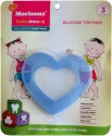 Baby Dreams SiliconeTeethers-Heart-Pac-3 - Blue
