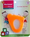 Baby Dreams SiliconeTeethers-Foot-Pac-3 - Orange