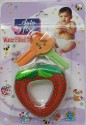 Love Baby Auto Flow Water Filled Toy Teether - Strawberry - Multi-color