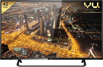 Vu 107cm (42) Ultra HD (4K) Smart LED TV at flipkart