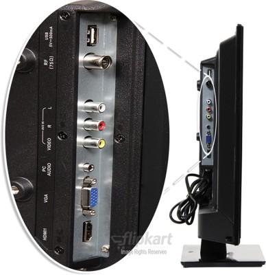 Mitashi 69.85cm (27.5) HD Ready LED TV (3 X HDMI, 1 X USB)