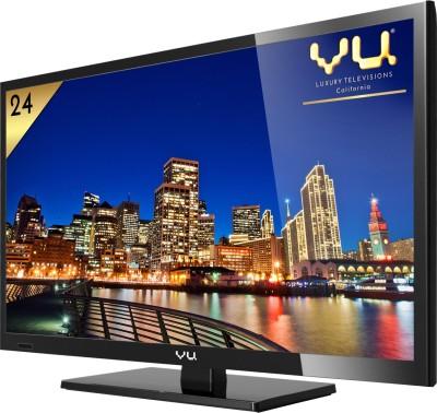 Vu 60cm (24) Full HD LED TV (1 X HDMI, 1 X USB)