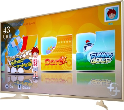 Vu 43S6535 43 Inch UHD Smart Gaming LED TV