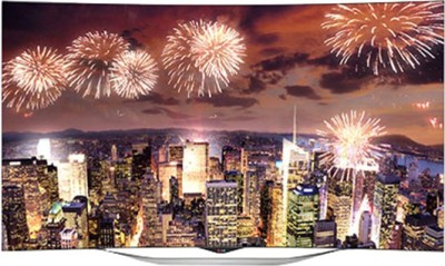 LG 139cm (55) Full HD 3D, Smart, Curved OLED TV (3 X HDMI, 3 X USB)