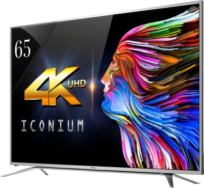 Vu 163cm (65) Ultra HD (4K) Smart LED TV (4 X HDMI, 3 X USB)