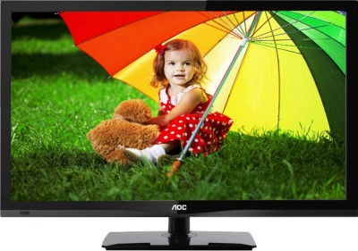 AOC 54.6cm (21.5) Full HD LED TV (2 X HDMI, 1 X USB)