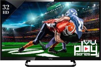 Vu 80cm (32) HD Ready Smart LED TV (3 X HDMI, 3 X USB)
