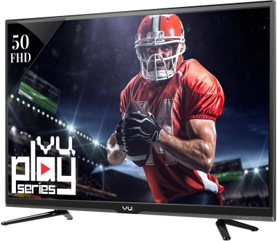 Vu 127cm (50) Full HD LED TV (2 X HDMI, 1 X USB)