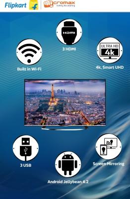 Micromax 106cm (42) Ultra HD (4K) Smart LED TV