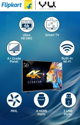 Vu LEDN50K310X3D 50 Inch Ultra HD 4K Smart LED TV
