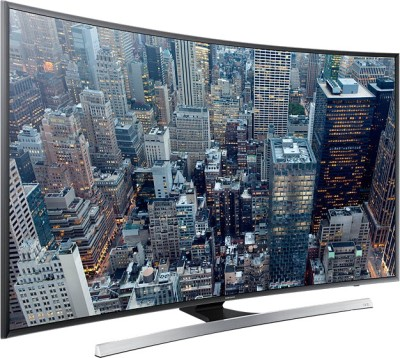 Samsung 139.7cm (55) Ultra HD (4K) Smart, Curved LED TV (4 X HDMI, 3 X USB)