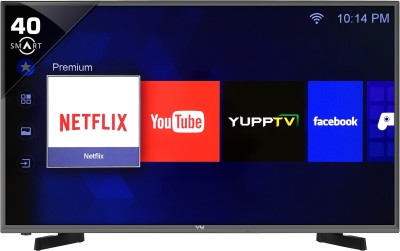 Vu 102cm (40) Full HD Smart LED TV (2 X HDMI, 2 X USB)