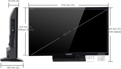 Sony 54.6cm (22) Full HD LED TV (1 X HDMI, 1 X USB)