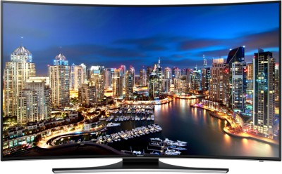 Samsung 139.7cm  55  Ultra HD  4K  Smart, Curved LED TV available at Flipkart for Rs.229229