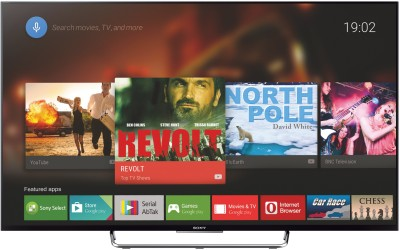 Sony BRAVIA KDL 55W800C 139cm  55  Full HD 3D LED Android TV available at Flipkart for Rs.125000