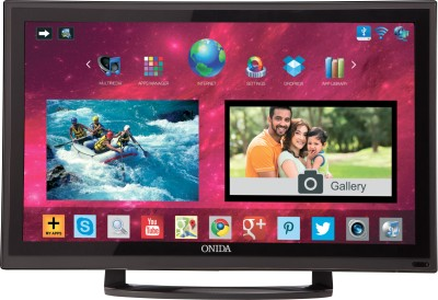 Onida 60cm (23.6) HD Ready Smart LED TV (LEO24HAIN, 2 x HDMI, 3 x USB)