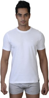 Park Avenue Round Neck Comfort Fit T-Shirt Men's Top