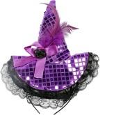 Funcart Purple Sequin Headband Crown & Tiara (Purple, Pack Of 1)