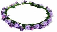 Loops N Knots Purple Princess Crown & Tiara (Purple, Pack Of 1)