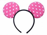Funcart Pink Minnie Ears Headband Crown & Tiara (Pink, Pack Of 1)