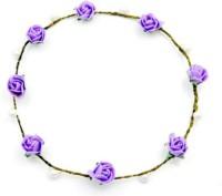 Sanjog Crown & Tiara (Purple, Pack Of 1)