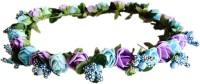 Loops N Knots Crown & Tiara (Blue, Purple, Pack Of 1)