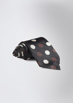 Savile Row Co. Polka Dots Men's Tie: Tie