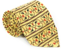 Mad(e) In India Printed Men's Tie - TIEDYAH9Q6FBXBXW