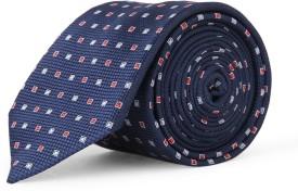 Louis Philippe Geometric Print Tie - TIEED9F5MGTBNFZ8