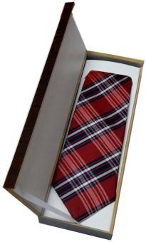 Navaksha Gift Set Checkered Men's Tie