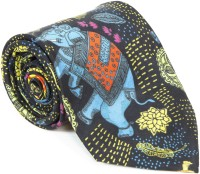 Mad(e) In India Printed Men's Tie - TIEDYAH9JQZX7P2U