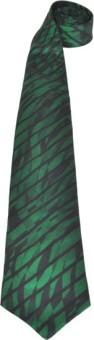 Pinellii Pure Silk Tie Green Black Designed In Italy Graphic Print Men's Tie